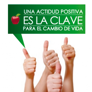 Actitud positiva para el cambio de vida
